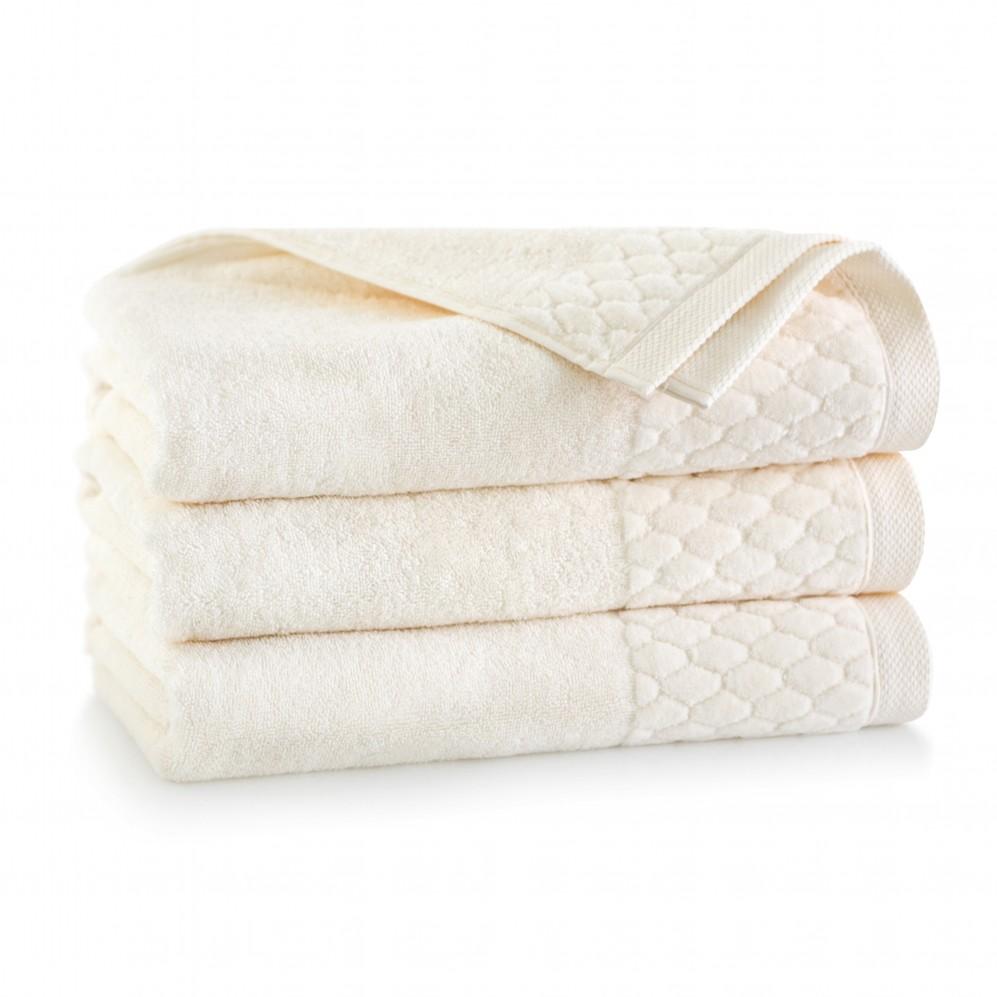 Ręcznik welurowy Carlo Kremowy