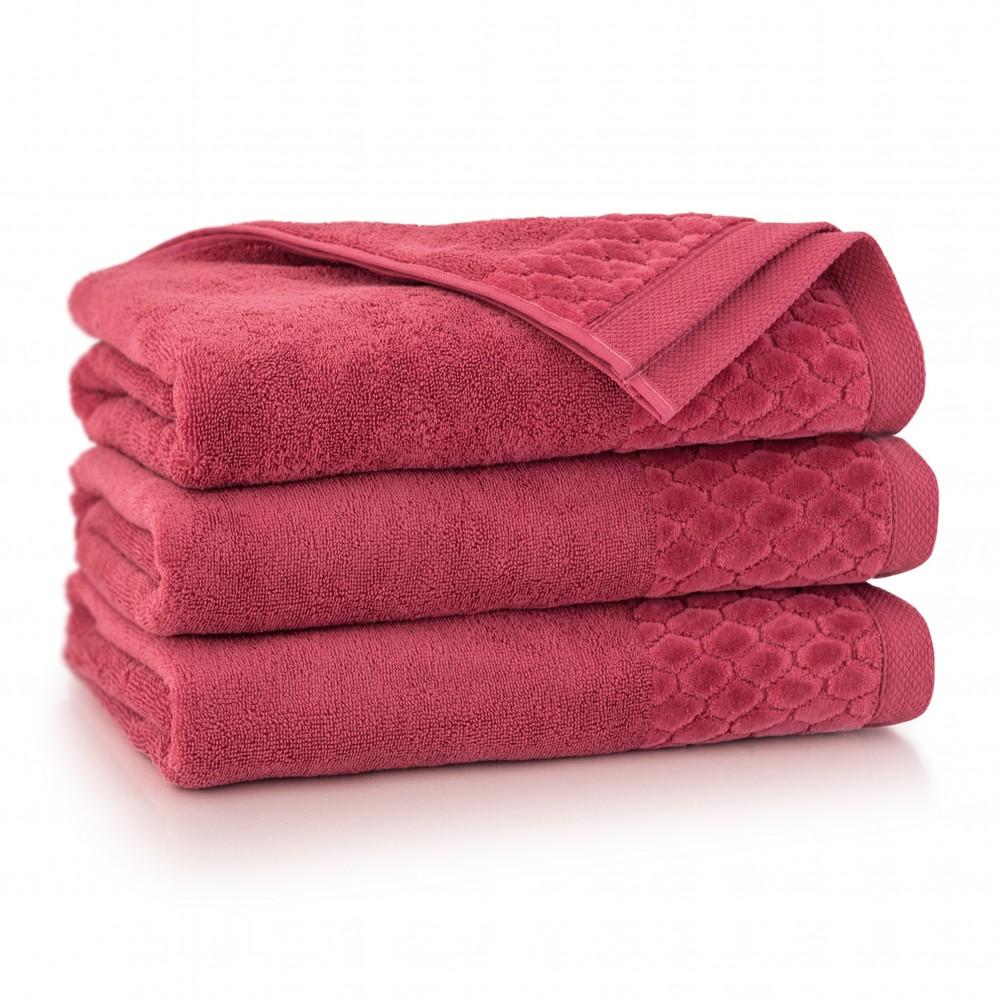Ręcznik welurowy Carlo Karnelian