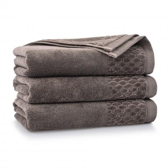 Ręcznik welurowy Carlo Taupe