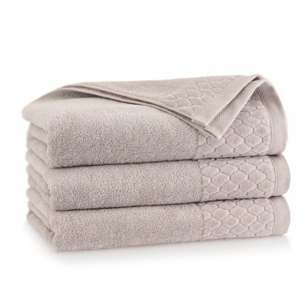 Ręcznik welurowy Carlo Sepia