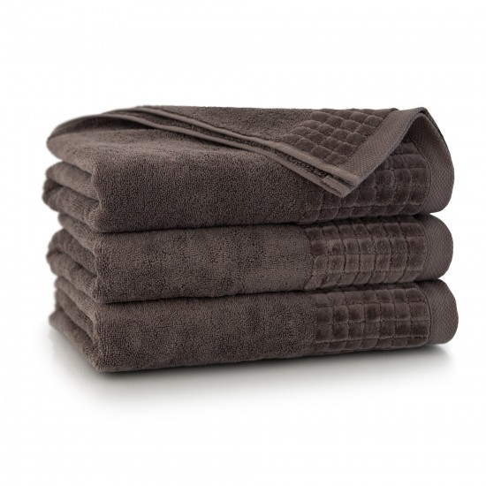 Ręcznik welurowy Paulo 3 Taupe