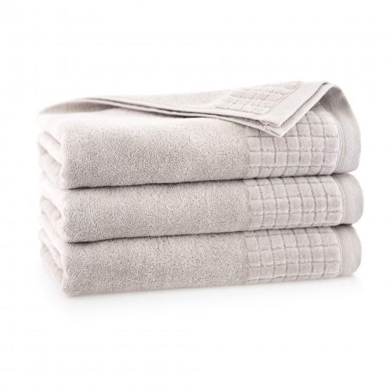Ręcznik welurowy Paulo 3 Sepia