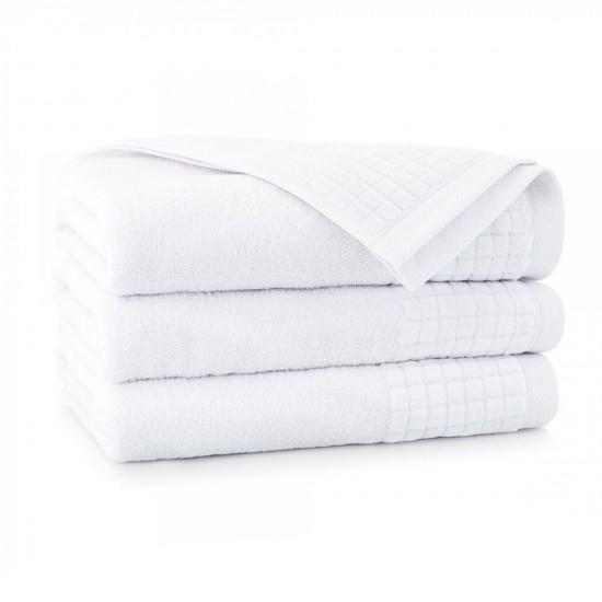 Ręcznik welurowy Paulo 3 Biały
