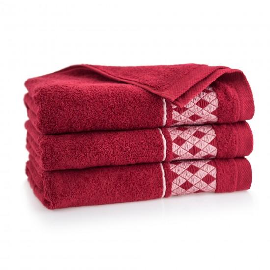 Ręcznik bawełniany DRAGON Magenta