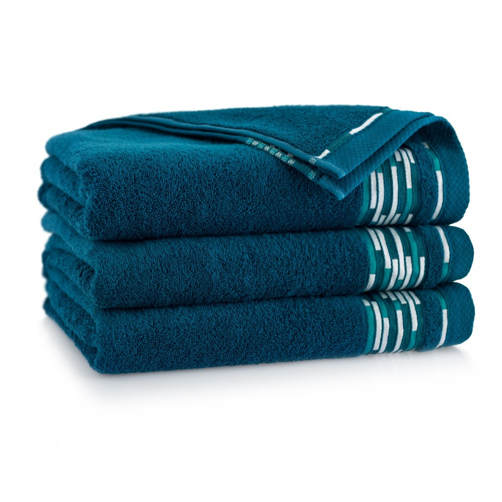Ręcznik bawełniany Grafik Emerald
