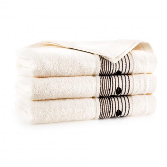 Ręcznik bawełniany Sonata Ecru