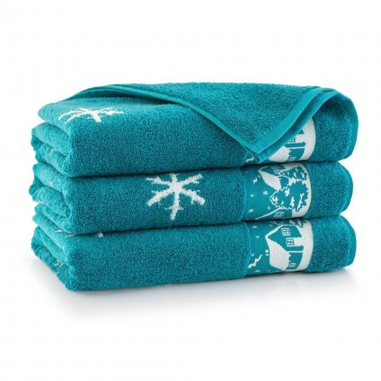 Ręcznik bawełniany Aspen 2 Turkus