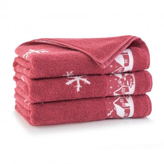 Ręcznik bawełniany Aspen 2 Karnelian