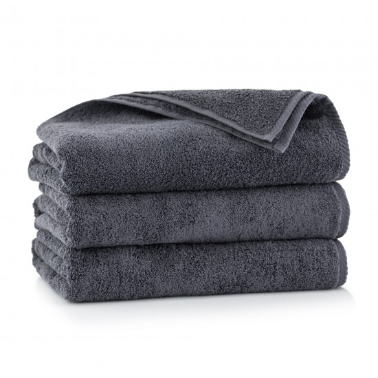 Ręcznik z bawełny egipskiej Kiwi 2 Grafit