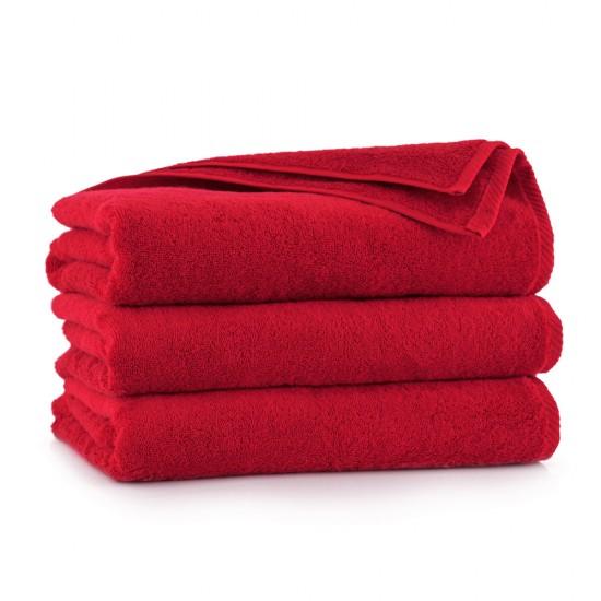 Ręcznik z bawełny egipskiej Kiwi 2 Czerwony