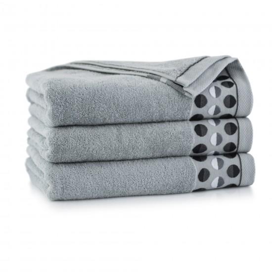 Ręcznik z bawełny egipskiej ZEN 2 Jasny Grafit