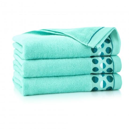 Ręcznik z bawełny egipskiej ZEN 2 Miętowy