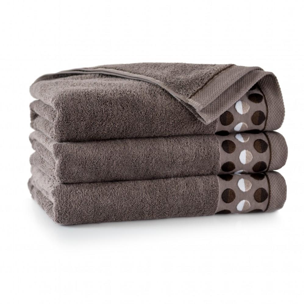 Ręcznik z bawełny egipskiej ZEN 2 Taupe