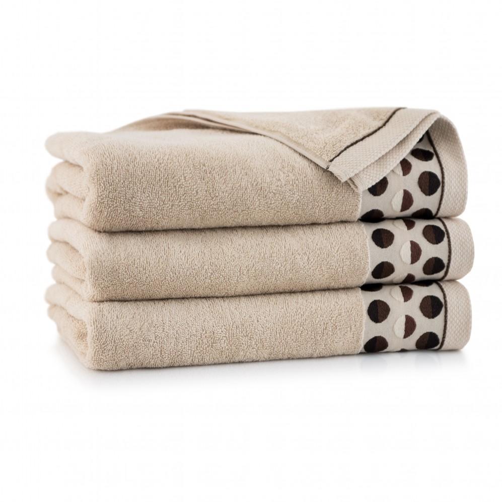 Ręcznik z bawełny egipskiej ZEN 2 Kremowy