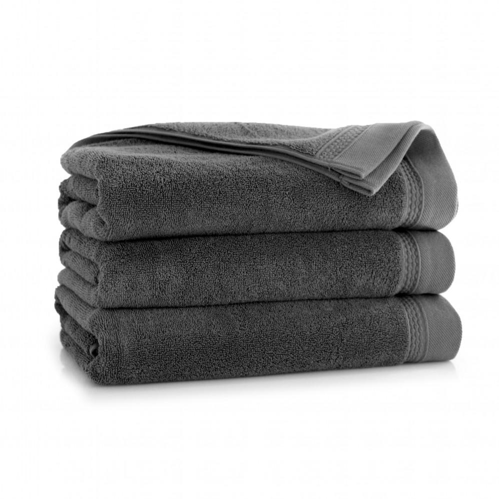Ręcznik z bawełny egipskiej Bryza AG Grafit