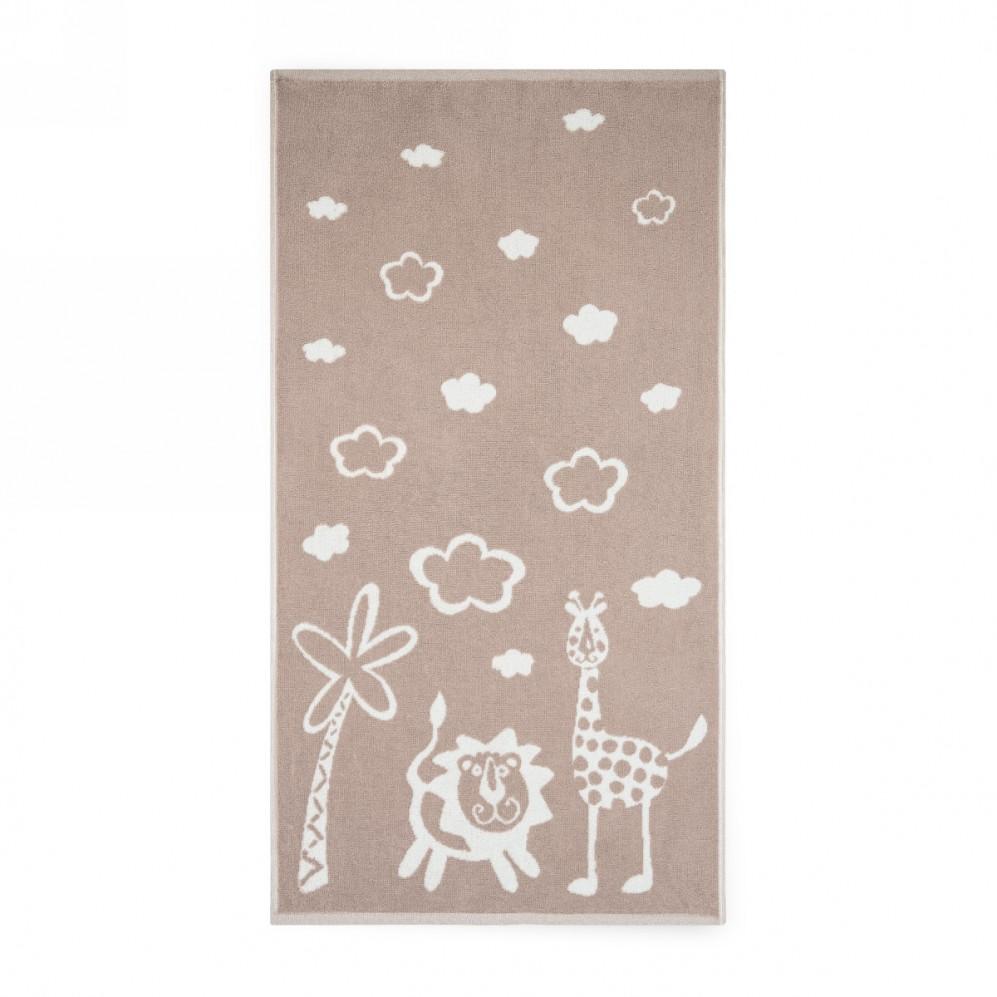 Ręcznik dla dzieci Safari Beżowy