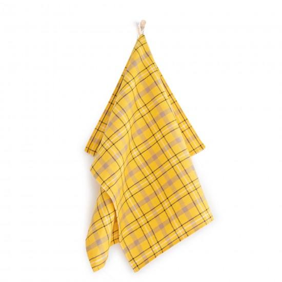 Ściereczka kuchenna Szkocja Żółty