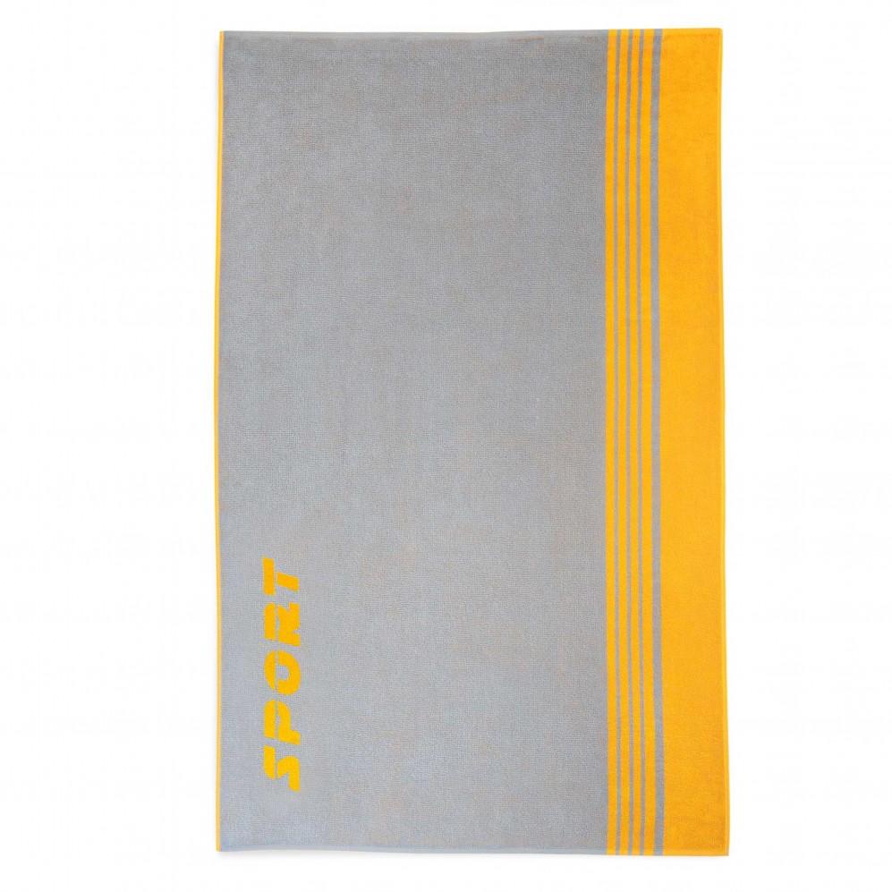 Ręcznik plażowy Sport Żółto-szary