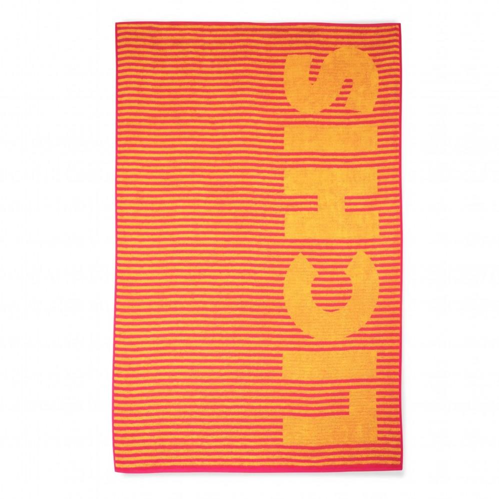 Ręcznik plażowy Lichis Różowo-żółty