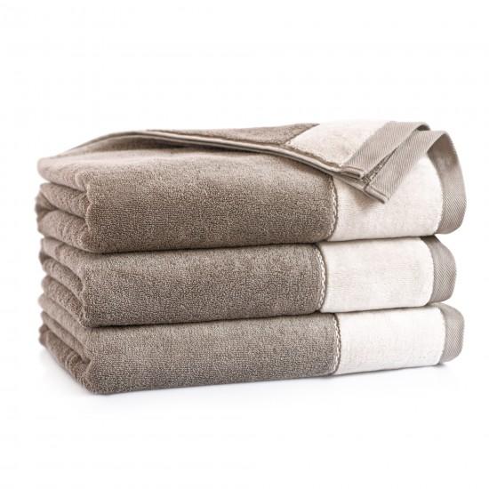 Ręcznik z bawełny egipskiej Megan Beżowy