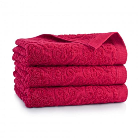 Ręcznik bawełniany PEDRO 2 malinowy