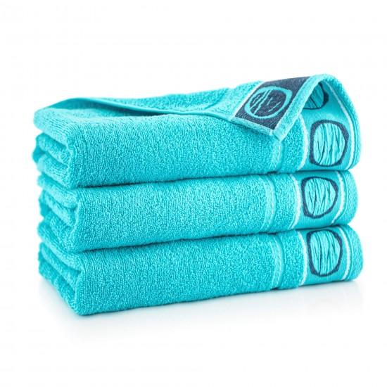 Ręcznik bawełniany Fraza 7 turkus