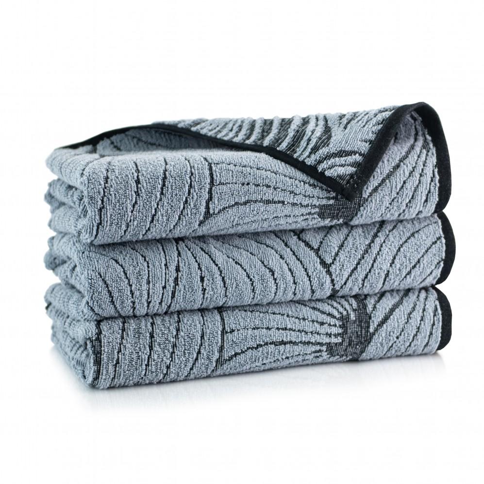 Ręcznik bawełniany Lantana Szaro-Grafitowy