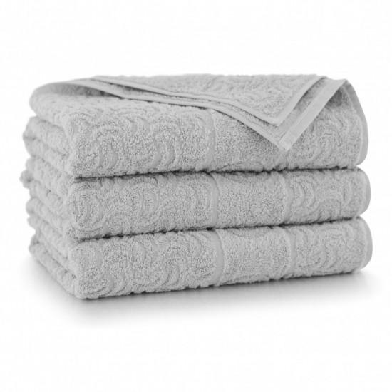 Ręcznik bawełniany Jasny Grafit