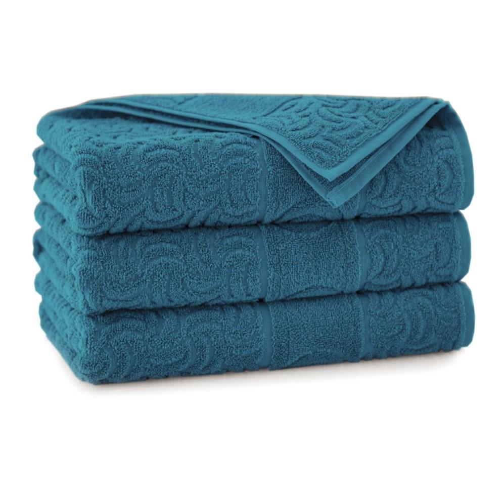 Ręcznik bawełniany zielony Morwa Emerald
