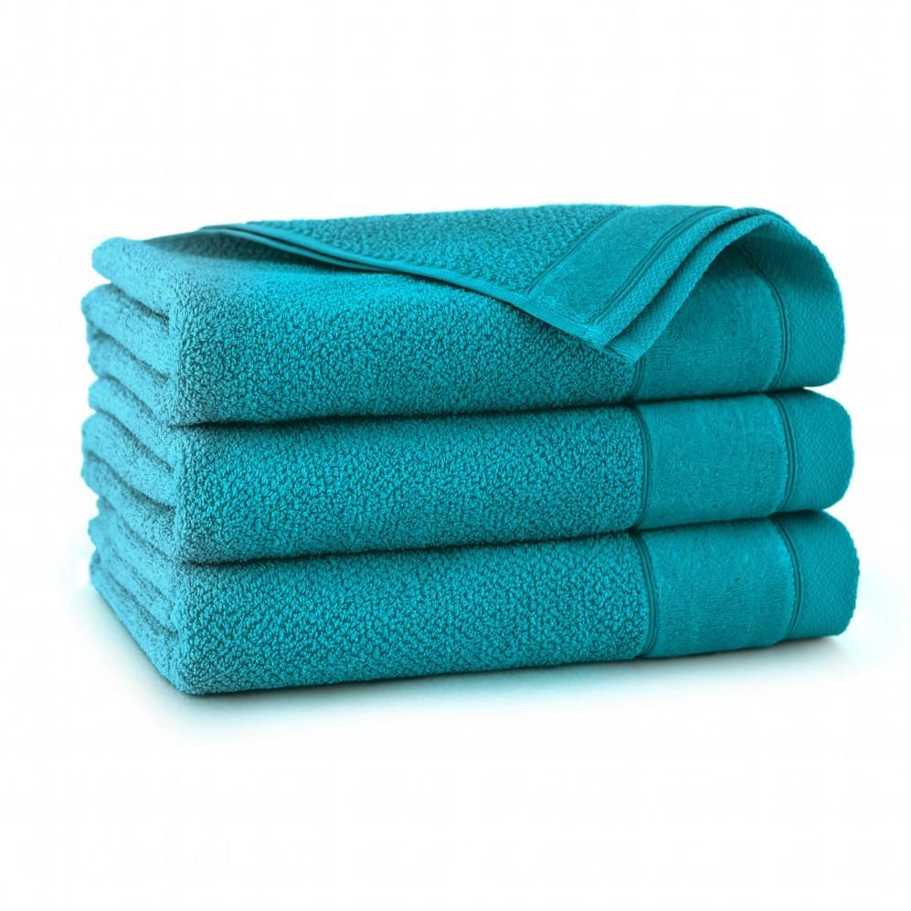 Ręcznik bawełniany zielony Smooth Aruba