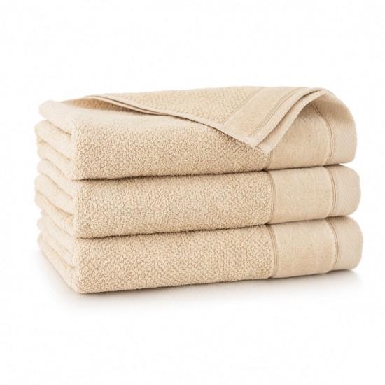 Ręcznik bawełniany beżowy Smooth Beż