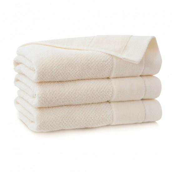Ręcznik bawełniany beżowy Smooth Ecru