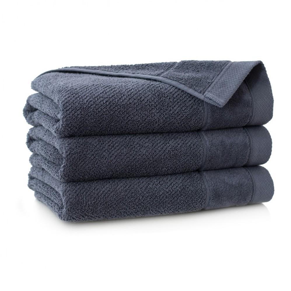 Ręcznik bawełniany szary Smooth Grafit
