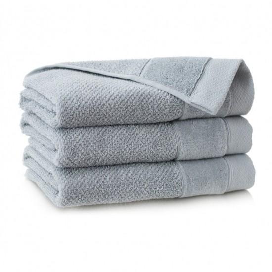 Ręcznik bawełniany szary Smooth Jasny grafit