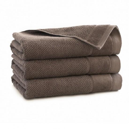Ręcznik bawełniany brązowy Smooth Taupe