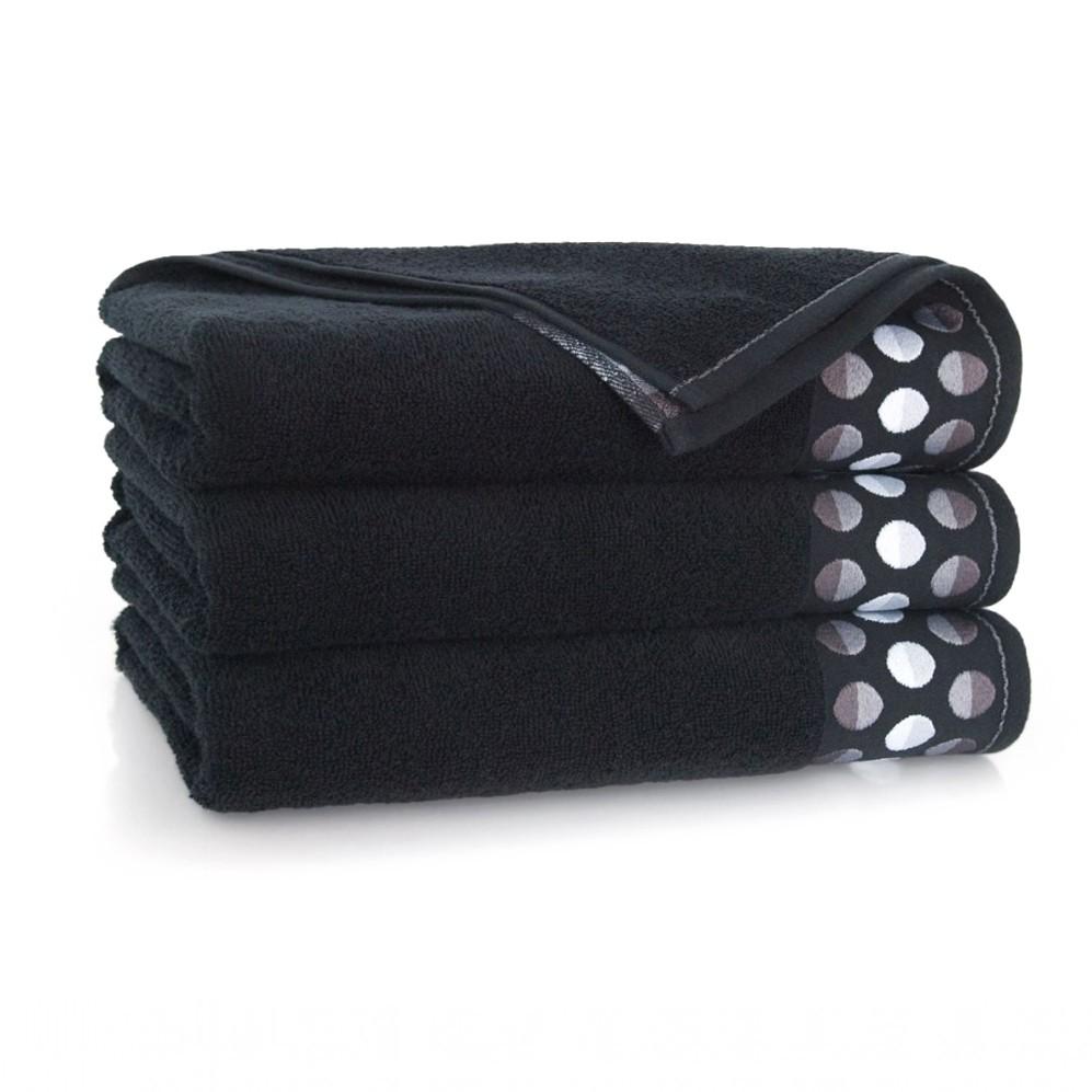 Ręcznik bawełniany Zen Czarny