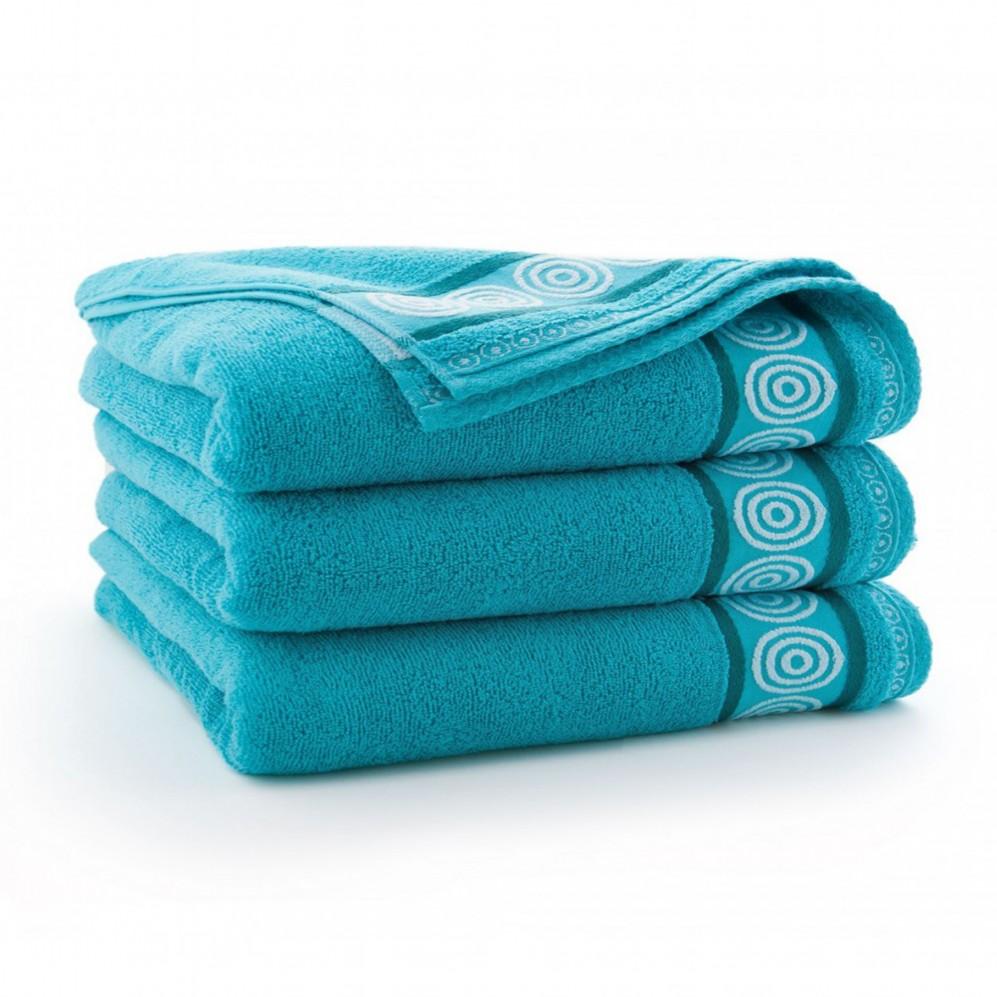 Ręcznik bawełniany Rondo Turkus