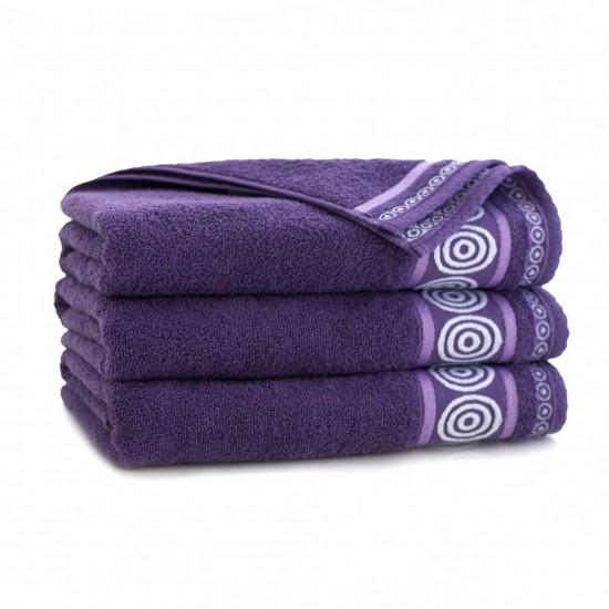 Ręcznik bawełniany Rondo Wrzosowy
