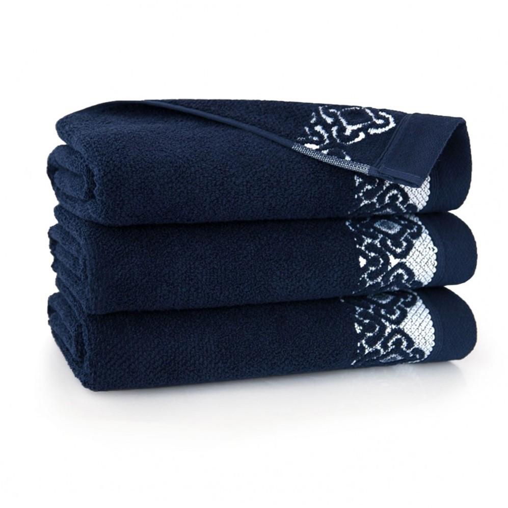 Ręcznik bawełniany Carmen Atrament