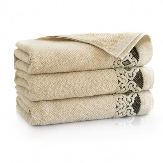 Ręcznik bawełniany Carmen Beż
