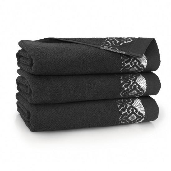 Ręcznik bawełniany Carmen Grafit
