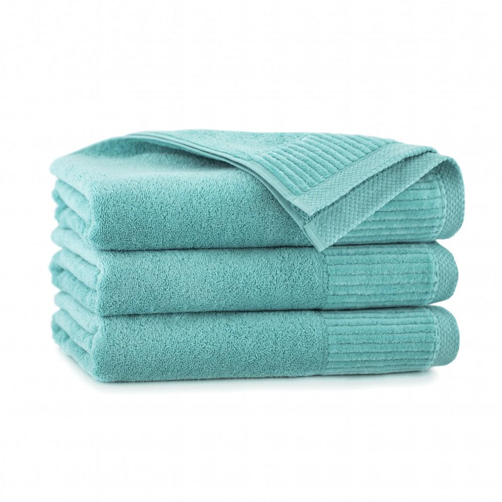 Ręcznik bawełniany zielony Lisbona Jezioro