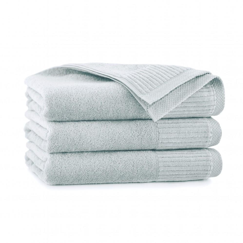 Ręcznik bawełniany szary Lisbona Stalowy