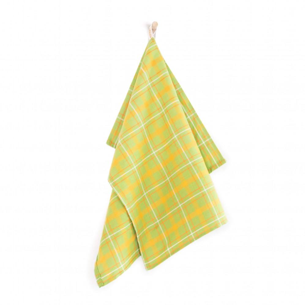 Ściereczka kuchenna Szkocja zielony