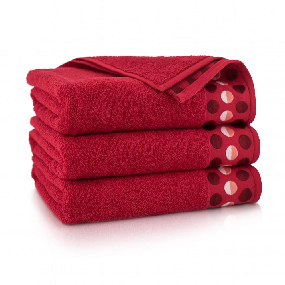 Ręcznik z bawełny egipskiej ZEN Czerwony