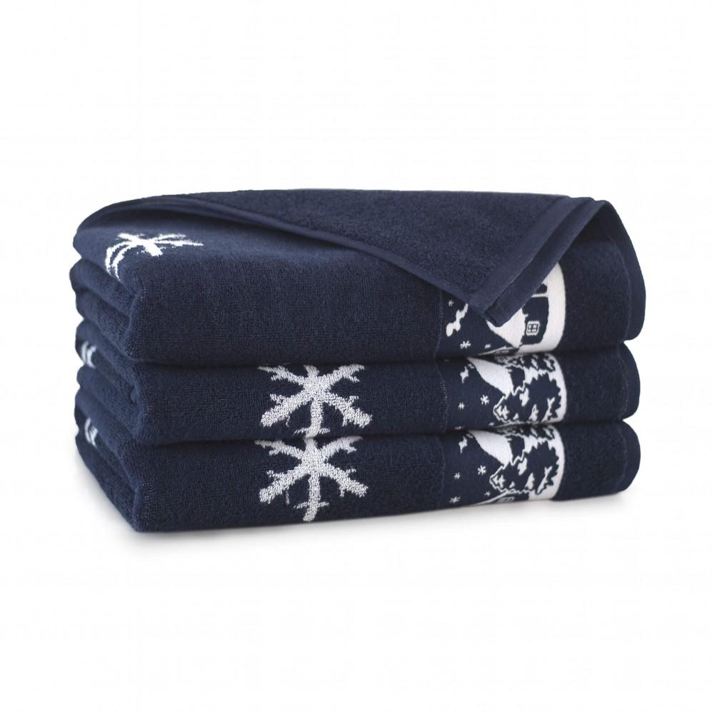 Ręcznik bawełniany Aspen Granatowy