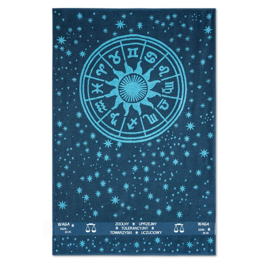 Ręcznik plażowy Zodiak Turkusowy Waga