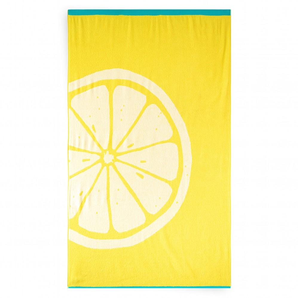 Ręcznik plażowy CITRON żółty