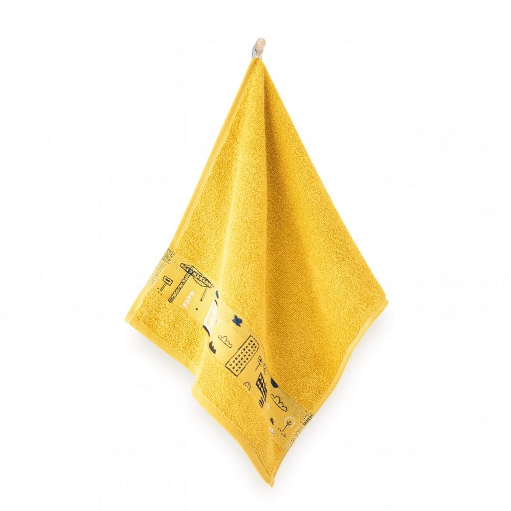 Ręcznik dla dzieci CITY kurkuma