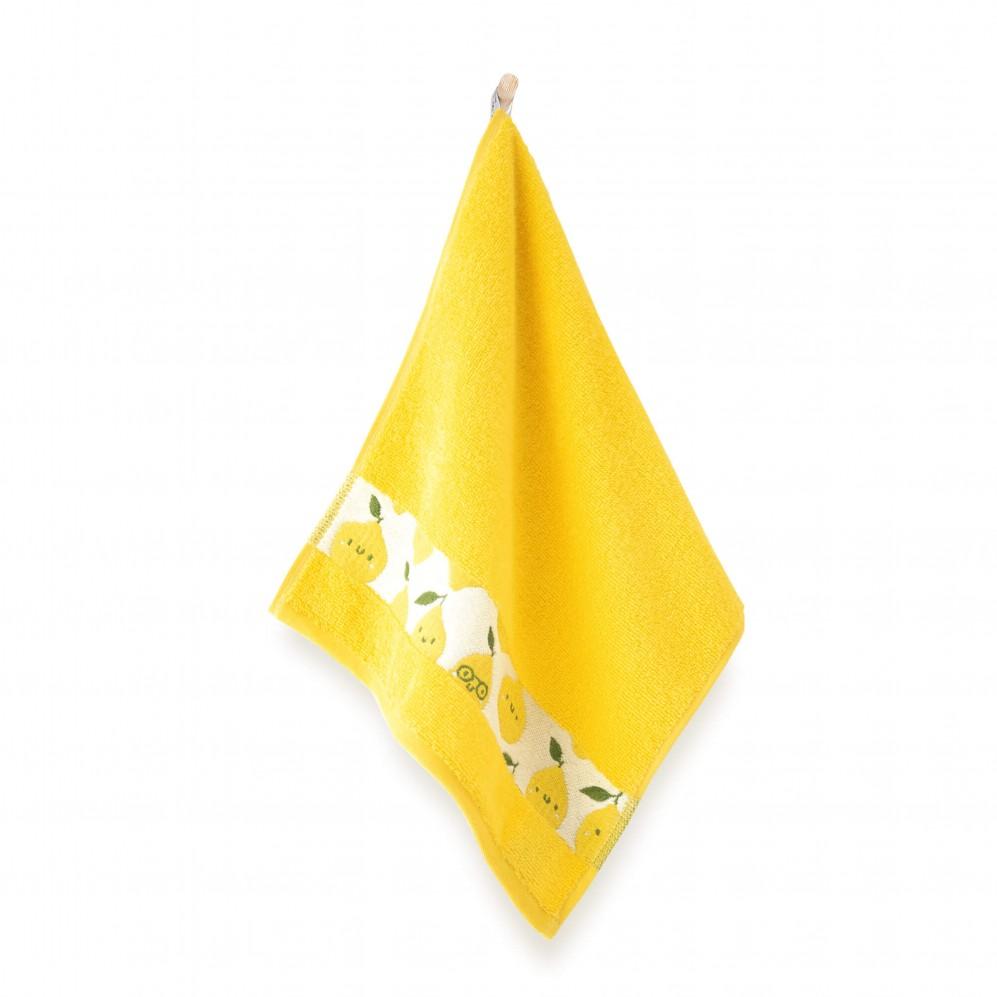 Ręcznik dla dzieci CYTRYNA kukurydziany